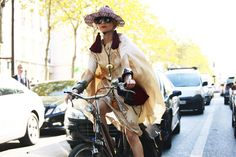 i love her on her bike                       and without her bike                                essentials: