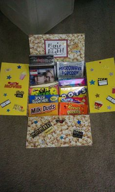 Movie Night Care Package!!
