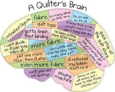 It's so true... #quilters #quilting