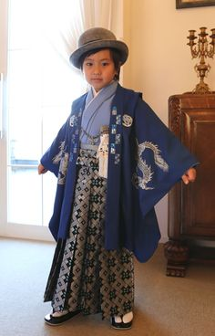 For the Shichigosan (7-5-3) Festival, boys and girls are both celebrated at the age of 3. Boys get their time alone in the spotlight at 5, and girls at 7.