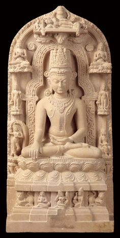 Buddha on Pala Sculpture