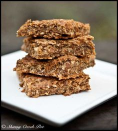 HEALTHY - Coconut Lime Oat Bars