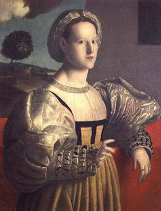 "Francesco Ubertini Verdi Bachiacca ""Portrait of a lady"""