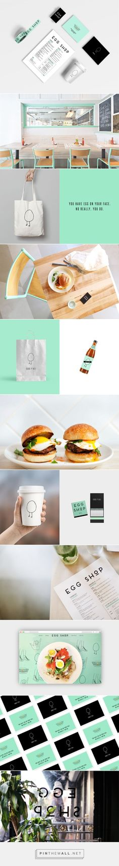 Egg Shop Nyc Restaurant Branding by Katie Minchak | Fivestar Branding Agency – Design and Branding Agency & Curated Inspiration Gallery