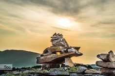 Stones in Sunset!!! by alexito