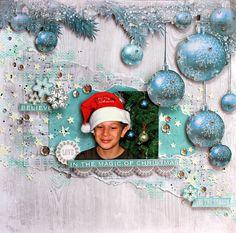 "Believe in the Magic of Christmas - Kaisercraft ""Silver Bells"" - Kaisercraft using new ""Silver Bells"" Christmas collection.  http://cathycafun.blogspot.com.au/2015/09/kaisercraft-dt-shabby-chic-christmas.html"