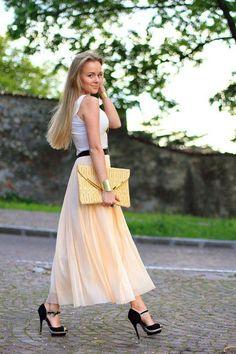 pretty flowy skirt