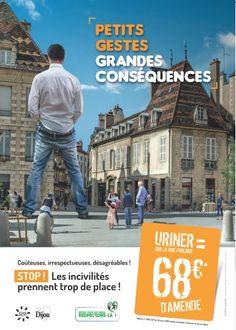 Actualités - Canettes, mégots, chewing-gums : Dijon va verbaliser les pollueurs de ses rues Corporate Communication, Rues, Movies, Movie Posters, Amazing, Posters, Films, Film Poster, Cinema