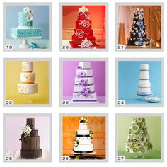 Wedding Cake Tips And Designs For The Bride And Groom