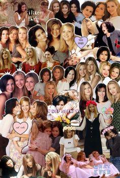 The ultimate trio! Serie Friends, Friends Moments, Friends Tv Show, Just Friends, Friends Forever, Friends Cast, Gilmore Girls, Divas, Rachel Green Friends