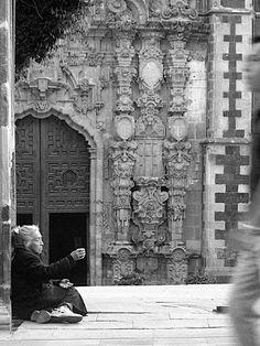 Mujer en Madero