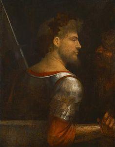 A Soldier - Giorgione, 1505-10 /  Kunsthistorisches Museum, Vienna, Austria