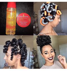 When it comes to our hair, many people neglect care. This might be because hair care can be a challenge. In the article below, you will be present with excellent advice that shows you how to properly manage your hair. You can't have healthier hair if your Cabello Afro Natural, Pelo Natural, Natural Hair Tips, Natural Hair Journey, Natural Curls, Natural Black Hair Products, Natural Beauty, Black Hair Natural Styles, Natural Hair Care