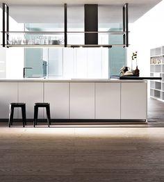 Dada has a new home in Zurich #kitchen #minimal @Molteni Arredamenti Arredamenti&C Dada