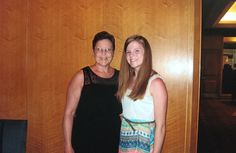 My mom and I before the Odyssey cruise