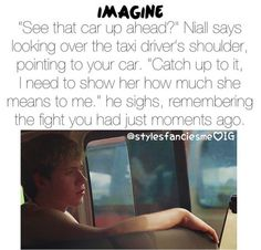 Niall imagine Awwwwwww... :')
