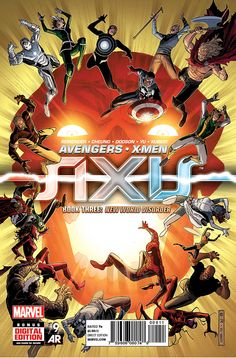 Preview: Avengers & X-Men: AXIS #9, Cover - Comic Book Resources