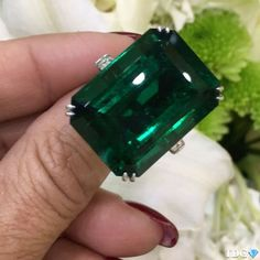 BECAUSE AN EMERALD LIKE THIS DOES NOT COME ALONG EVERY DAY!!!! From @artcreationsjewelry , what a stunner!!!! Now on display at the @alfardanjewelry pavilion at #djwe2017 , at @artcreationsjewelry