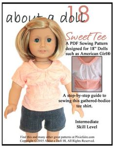 Free Doll Clothes Patterns Friday (Jan 27th, 2017) Help Us Decide | Pixie Faire