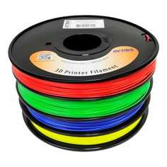 Octave ABS Filament / 4 Color Red-Green-Blue-Yellow / 1.75mm | EEZITEC