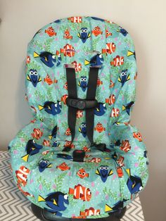 A personal favorite from my Etsy shop https://www.etsy.com/listing/471808161/ready-to-ship-toddler-carseat-cover-made