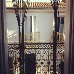 Fenêtre ouverte - Montpellier   by @mrsclooney Montpellier, Curtains, Room, Furniture, Home Decor, Open Window, Bedroom, Blinds, Decoration Home