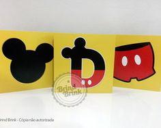 Quadrinhos Decorativos Mickey