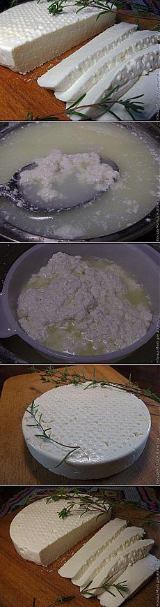 Адыгейский сыр в домашних условиях.