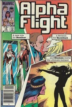 #82 Near Mint Alpha Flight 1983