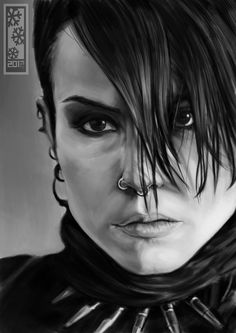 Noomi Rapace (The Girl With The Dragon Tattoo) By ~Tylerrthemesmer
