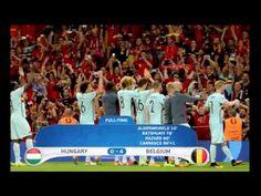 Hungary 0-4 Belgium Match Recap Euro 2016 - YouTube