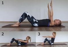 Pilates. Ćwiczenia na płaski brzuch