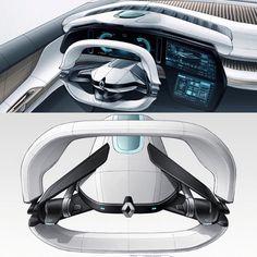 Car Interior Sketch, Car Interior Design, Interior Design Sketches, Industrial Design Sketch, Interior Concept, Automotive Design, Car Ui, Sketch Inspiration, Cool Sketches