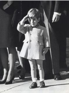 john F kennedy jr 25 november 1963 jfk funeral
