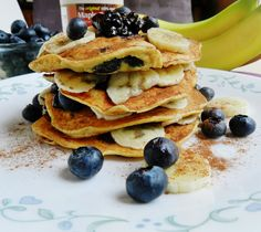 High protein chickpea flour pancakes - Amazing!!