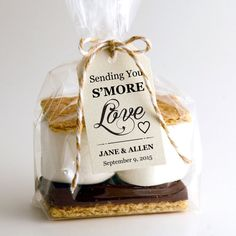 Sending You S'MORE Love Tag Template   SMALL  by CrossvineDesigns