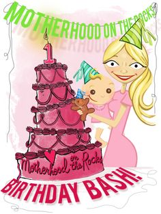 Motherhood on the Rocks turns 1 today, but you're getting all the gifts! Enter to win 1 of 3 prize packs!