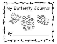 This is a journal students can use to note their observations when watching butterflies or the life cycle of butterflies. Enjoy!