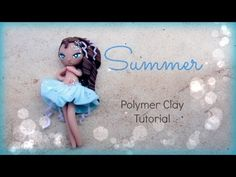 4 seasons - Summer Chibi polymer clay tutorial