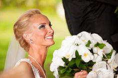 Photo by Pacific Dream Photography  Bridal Hair, Bridal Updo, Bridal Beauty...... Halter Wedding Dress, Weddings, Wedding in Hawaii, Beach Wedding, Hawaii Wedding Photographer, Weddings, Oahu Wedding, Kauai Wedding, Maui Wedding.
