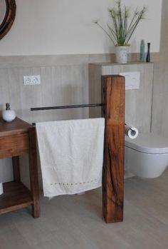 Altholz + Rohstall Handtuch- und Toilettenrollenhalter.                                                                                                                                                      Mehr