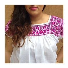 Tlaxcala blouse / Flor de Luz Shop