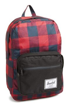 Herschel Supply Co. 'Pop Quiz' Buffalo Check Backpack available at #Nordstrom