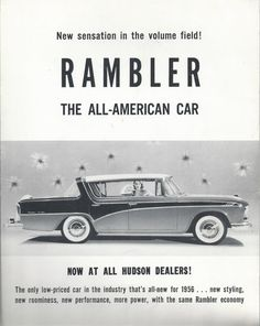 Check out this item in my Etsy shop https://www.etsy.com/listing/173694449/1956-rambler-sales-brochure