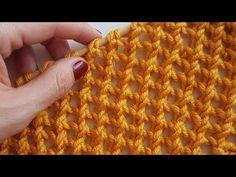 Yılın modası ''Ekose Örgü'' / planned pooling crochet - You. Baby Knitting Patterns, Lace Knitting, Knitting Stitches, Stitch Patterns, Crochet Patterns, Knitting Videos, Crochet Videos, Crochet Designs, Knitting Designs