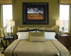 Peter Lik photography enhances the home. Framed in Roma Moulding