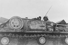 A StuG 3 operating in winter conditions with the Sturmgeschutz Abteilung 226