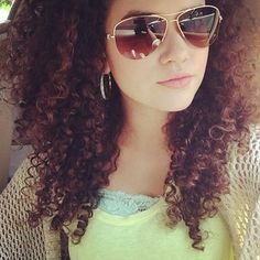 Madison Pettis... her hair is AWESOME