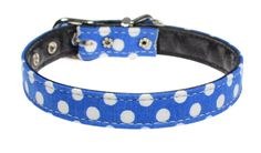 Evans Collars 1/2' Collar, Size 14, Polka Dot, Blue ** Read more reviews of the product by visiting the link on the image. (This is an affiliate link and I receive a commission for the sales)