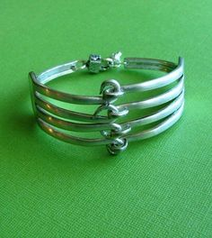 Do you have a fork bracelet? I got mine a few years ago at the Stowe Craft Gallery: http://www.stowecraft.com/